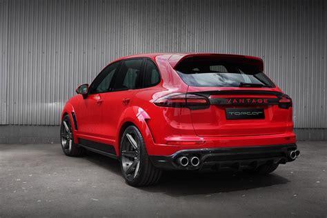 Porsche Cayenne Rot by 2015 Topcar Porsche Cayenne Vantage Returns In Red