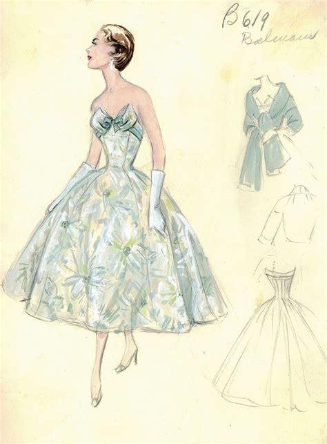 retro drawing fashion sketch vintage www pixshark com images