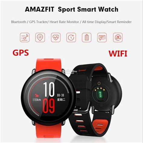 Xiaomi Amazfit Internasional Upversion Smartwatch With Rate Gps xiaomi mi huami amazfit smartwatch b end 9 8 2017 11 15 pm