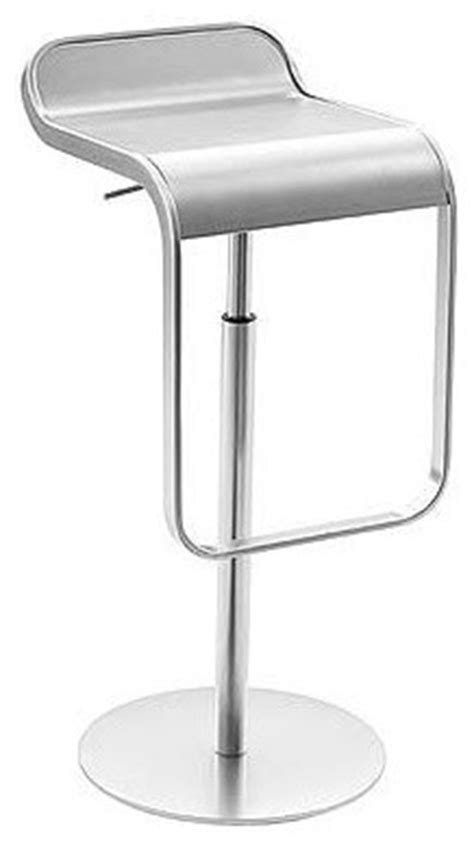 modern bar stools stainless steel lem piston stool stainless steel modern bar stools and counter stools by design within reach