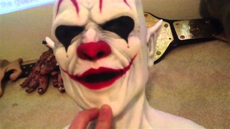 review of my cfx imp clown silicone mask