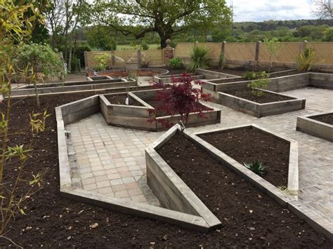 Kilgraney Railway Sleepers by New Oak Railway Sleeper Raised Beds