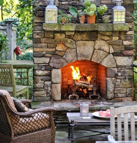 backyard fireplace ideas 29 outdoor fireplace ideas diy home sweet home