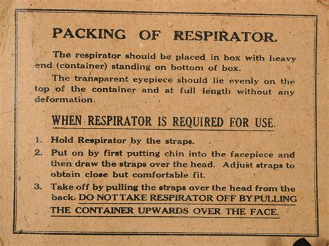printable evacuee label gas mask and carry case