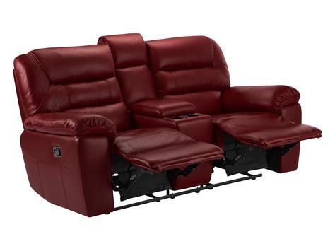 burgundy leather recliner devon small sofa with manual recliners burgundy leather