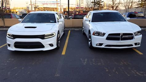charger rt vs srt 2016 dodge charger srt 392 from a new 2013 charger r t