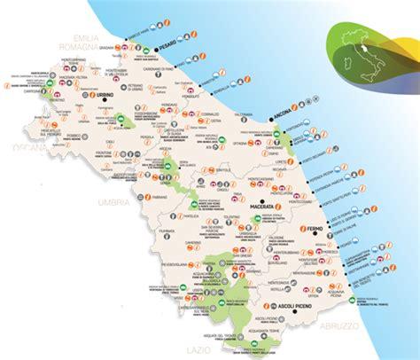 delle mrche mappa delle marche di qualit 224