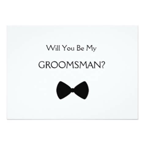 be my groomsman card template will you be my groomsman gifts on zazzle