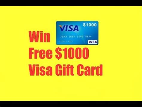 Free 1000 Visa Gift Card - 17 best ideas about visa gift card on pinterest gift cards visa card and gift card