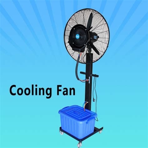 fan that blows cold air strong wind portable water fan that blow cold air on