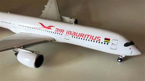 air mauritius a350 941 aircraft model unboxing 4