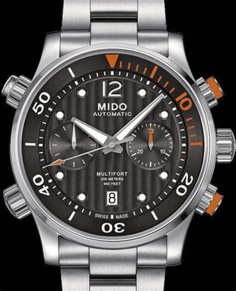 Mido Multifort Automatic Diver M0059303705000 multifort diver chrono black m0059141106000 mido
