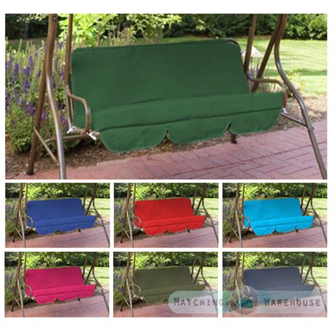 3 seat swing replacement cushions replacement cushions for swing seat hammock garden pads