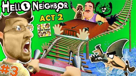 a dollhouse act 1 escape hello prison fgteev act 2 roller