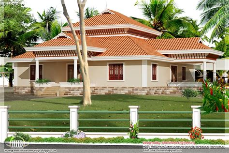 Single Storied House Plans by Designs Of Single Story Homes Bedroom Kerala Style