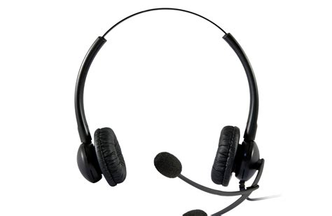 Headset Call Center Plusonic Headsets Professional And Efficient