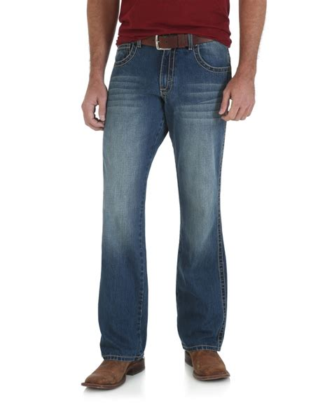 boot cut khakis mens wrangler retro 174 s mid rise relaxed fit boot cut