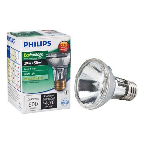 Lu Philips 8 Watt upc 046677419738 philips 50w equivalent halogen par20