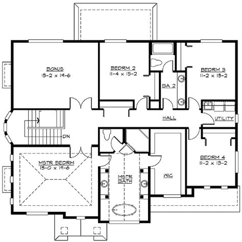 tandem garage plans 4 car tandem garage 2369jd 2nd floor master suite