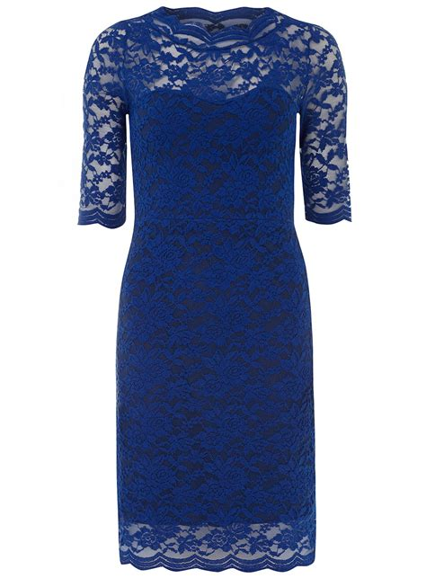Blue Royal Lace Dress 43564 royal blue lace dress dorothy perkins
