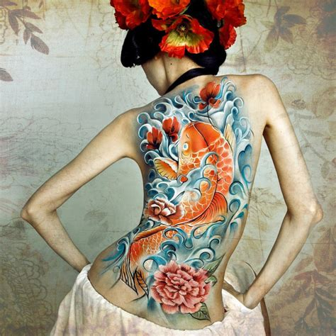 asian back tattoo design japanese designs for photo albums of