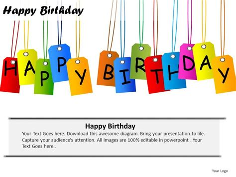 happy birthday template powerpoint happy birthday powerpoint presentation slides