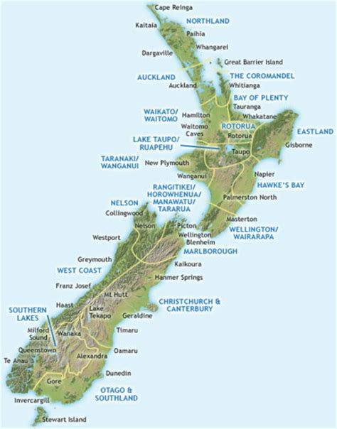 New Zealand Search Free New Zealand Map Hd