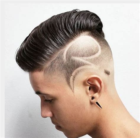 hair styles for men with line shaved mens hairstyles 2016 undercut with line