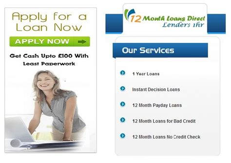 12 month payday loans 12monthloansdirectlenders1hr co uk 14 best next day loans for with bad credit images