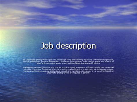 marine biologist description doc 500328 marine biologist description marine