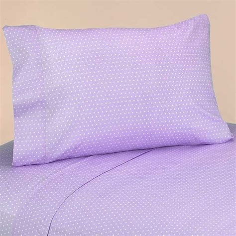 lavender bed sheets lavender mod dots bedding set 4 piece twin size by sweet
