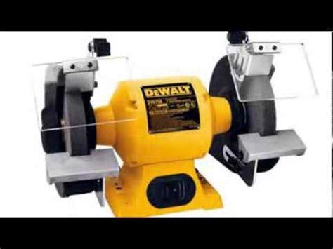8 dewalt bench grinder dewalt dw758 8 inch bench grinder youtube