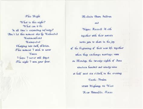 Wedding Album Poem by Wayne S Wedding Poetry