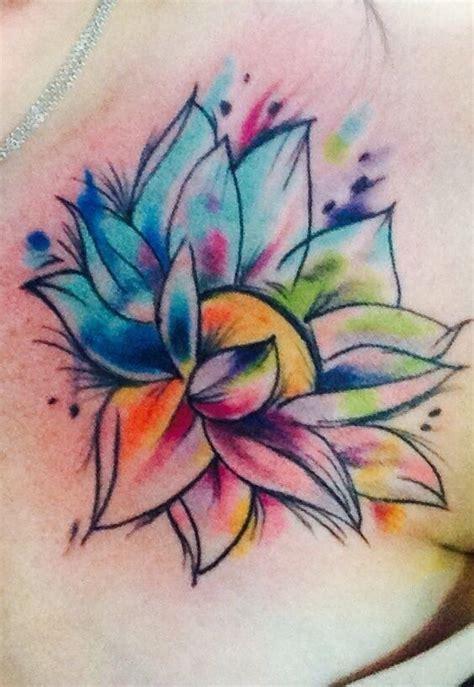 flor 45 tatuajes acuarelas incre 237 bles community