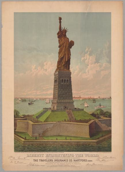 what was the original color of the statue of liberty liberty enlightening the world teach us history