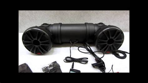 boat speakers without if you want music in your atv quad boat or golf cart