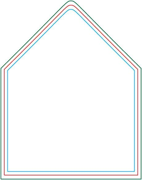 a6 envelope liner template from http www envelopperinc