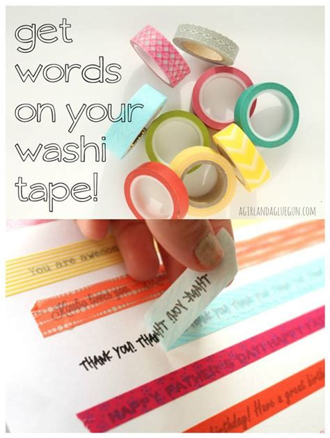 uses of washi tape 100 creative ways to use washi tape diy crafts