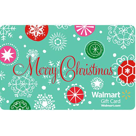 Xmas Gift Cards - green merry christmas gift card gift cards walmart com