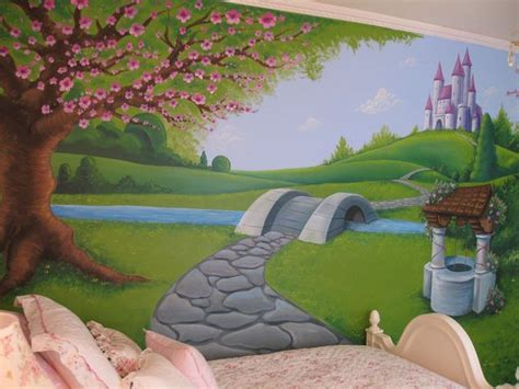 willows and path mural best 25 castle mural ideas on princess mural childrens castle bedrooms and