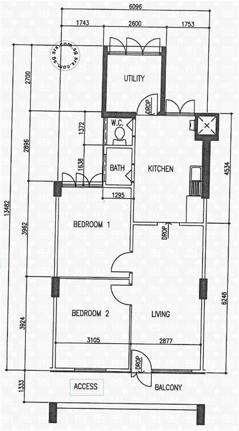 hdb floor plans floor plans for holland close hdb details srx property