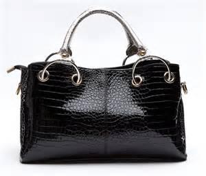 Handbag Croco Korea korea style luxury croco satchel tote shoulder handbag purse bag free s h ebay