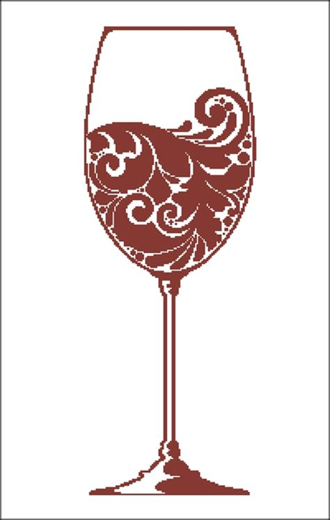 Wine Glass Silhouette Wine Glass Silhouette Ss0120 8