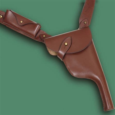 Samurai Kitchen Knives C 96 Broomhandle Shoulder Holster