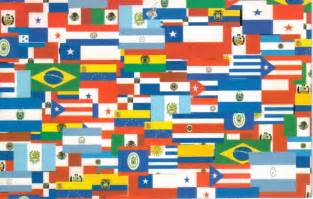 hispanic colors the gallery for gt american countries flags