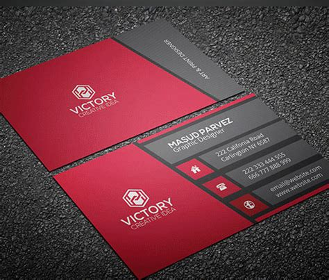 business card sle template 50 magnificent free business cards design templates