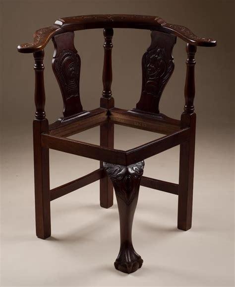 corner armchair antique carved corner chair