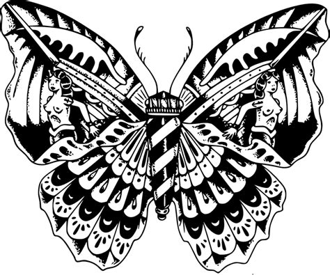 butterfly concept tattoo by avensteye on deviantart