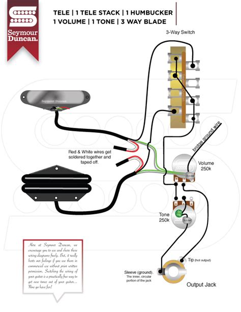 seymour duncan humbucker wiring diagram 3 way switch