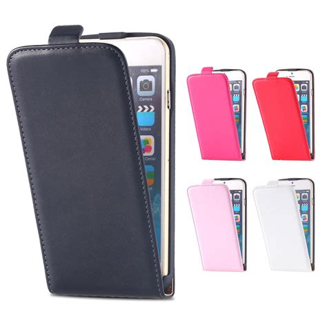 Slim Leather Iphone And Samsung retro slim magnetic leather flip pouch cover for iphone 7 7plus samsung ebay